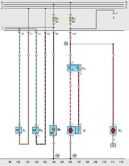 Схема реле фольксвагена транспортера винтовой конвейер производители