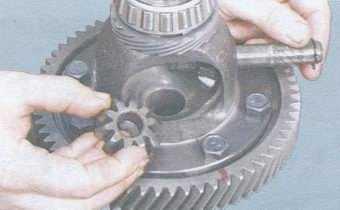 Замена привода спидометра ваз 2109 в коробке
