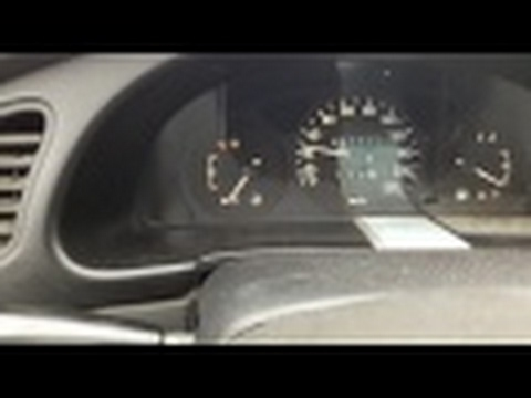 What to do if speedometer not working on a Daewoo Lanos