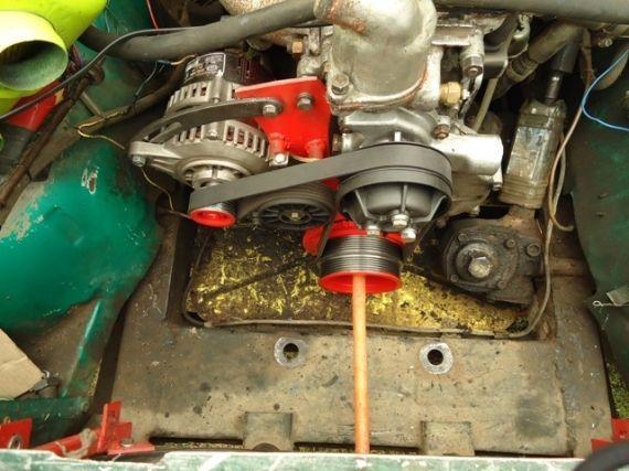 как усилить генератор на ваз 2106