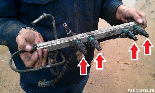 Как очистить форсунки инжектора своими руками 67
