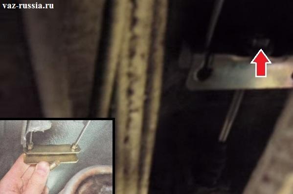 Ремонт ручника ваз 2110 своими руками 27