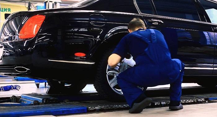 Положительный развал задних колес