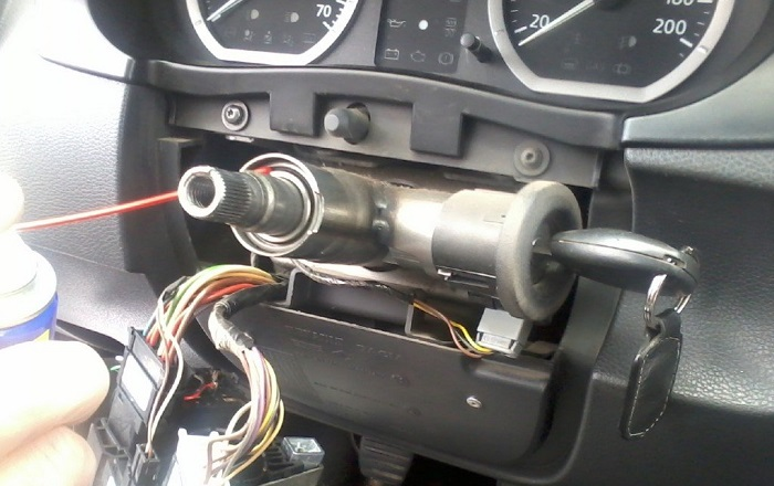 WheelBroken2 - Хрустит рулевая рейка при повороте руля