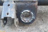 стальные втулки приварены к балке передней подвески ваз