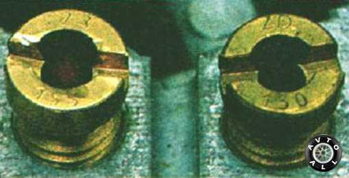 Таблица жиклеров карбюратора ваз 21 0 73