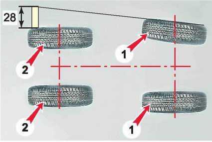 Регулировка схождения колес газель своими руками видео 120