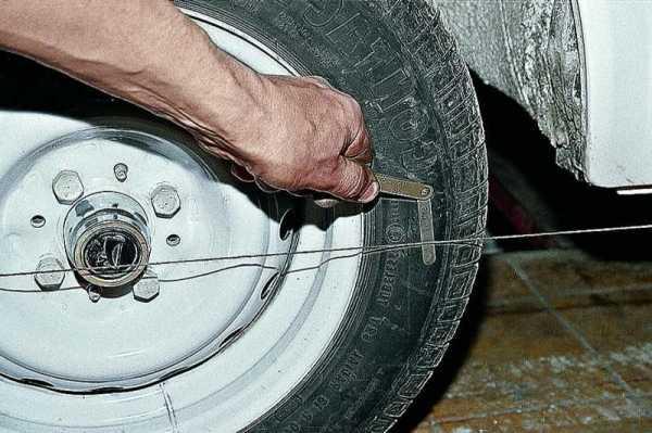 Регулировка схождения колес газель своими руками видео 133