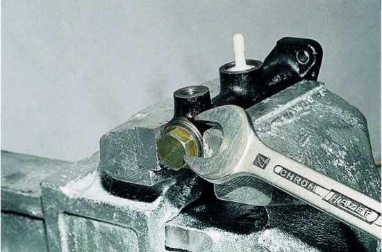 shema scepleniya glavnogo cilindra vaz 2107 6 - Устройство сцепления ваз 2107 инжектор