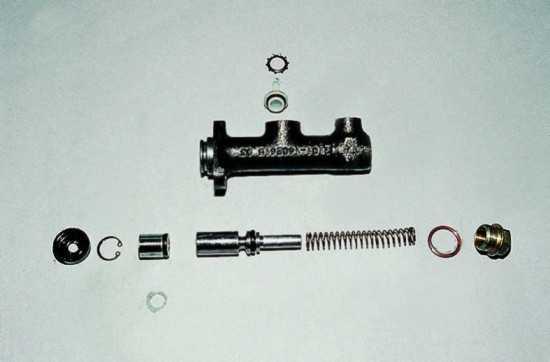 shema scepleniya glavnogo cilindra vaz 2107 8 - Устройство сцепления ваз 2107 инжектор