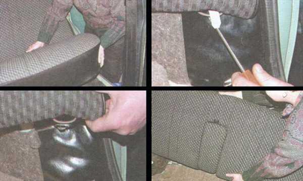 Ремонт спинки сидения ваз 2107