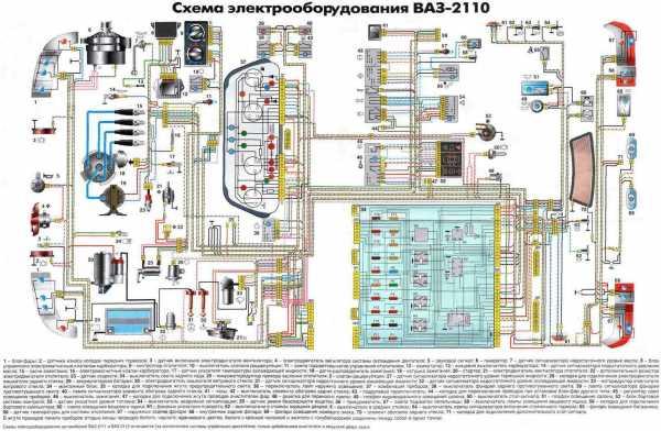 интерактивная схема электрооборудования автомобилей ваз-2107