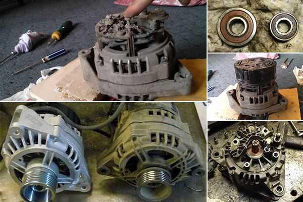 Ремонт генераторов 2110 своими руками 854