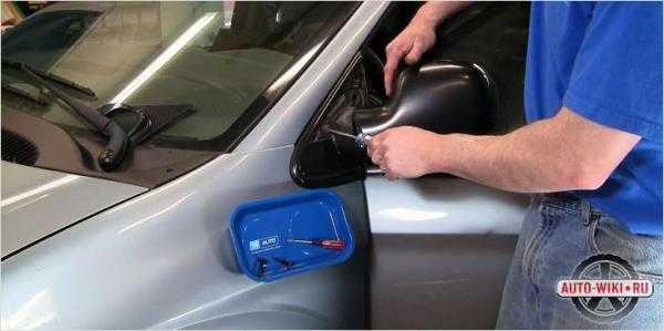 Как разобрать боковое зеркало ваз 2110